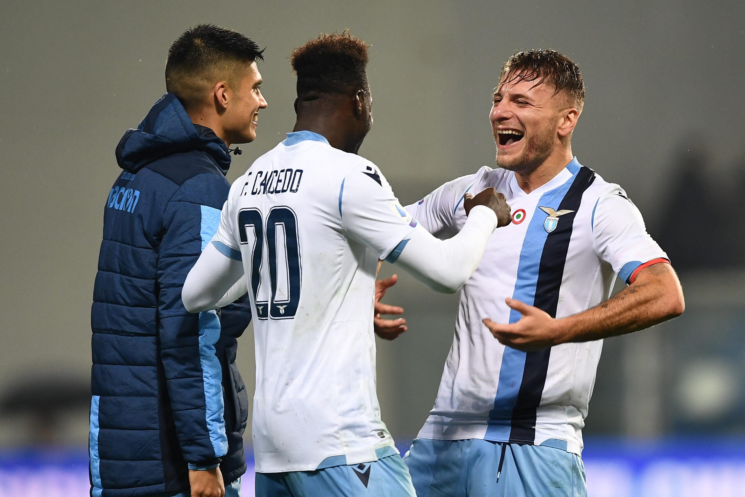 Lazio, Immobile e Correa festeggiano con Felipe: «Amami o faccio ...