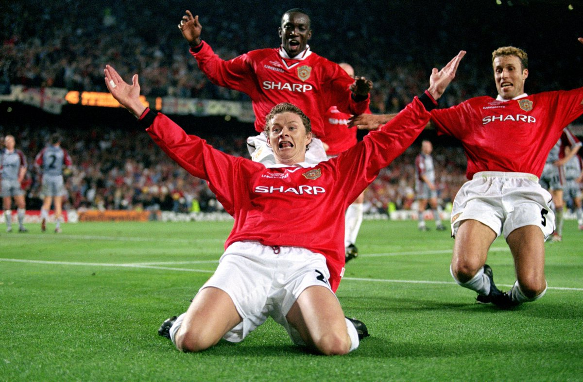 "Squawka News on Twitter: ""26 May 1999: Ole Gunnar Solskjær scores ..."