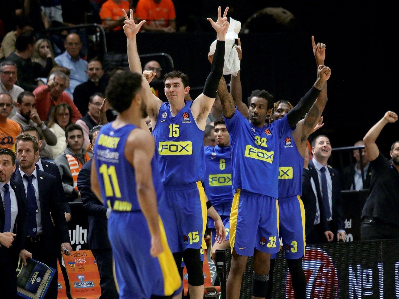 Maccabi FOX Tel Aviv celebrates - EB19