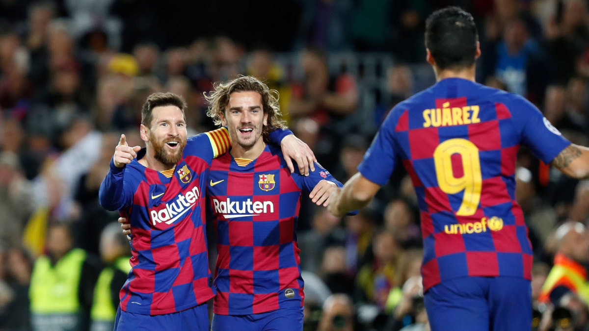 Champions League: Barcelona goes through the knockout stage ...